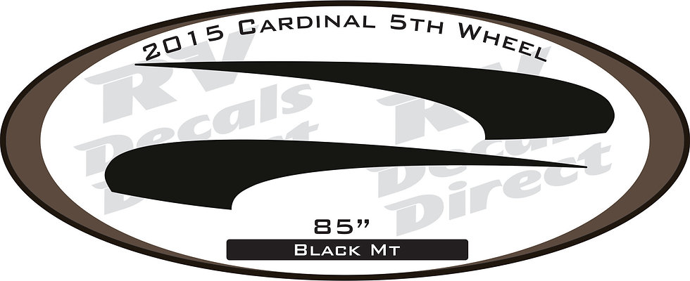2015 Cardinal 5th Wheel