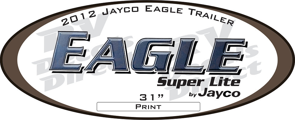2012 Jayco Eagle Travel Trailer