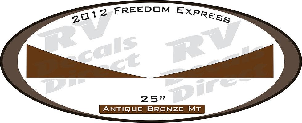 2012 Freedom Express Travel Trailer