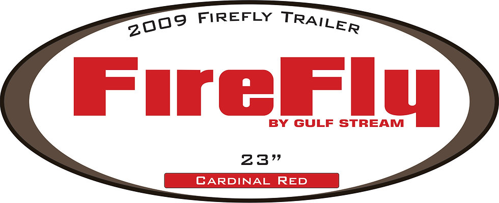 2009  Firefly Travel Trailer