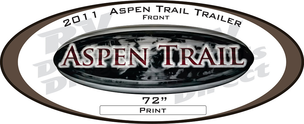 2011 Aspen Trail Travel Trailer