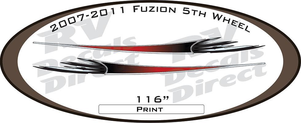 2007 - 2011 Fuzion 5th Wheel