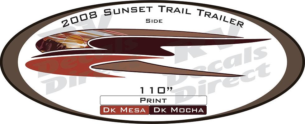 2008 Sunset Trail Travel Trailer