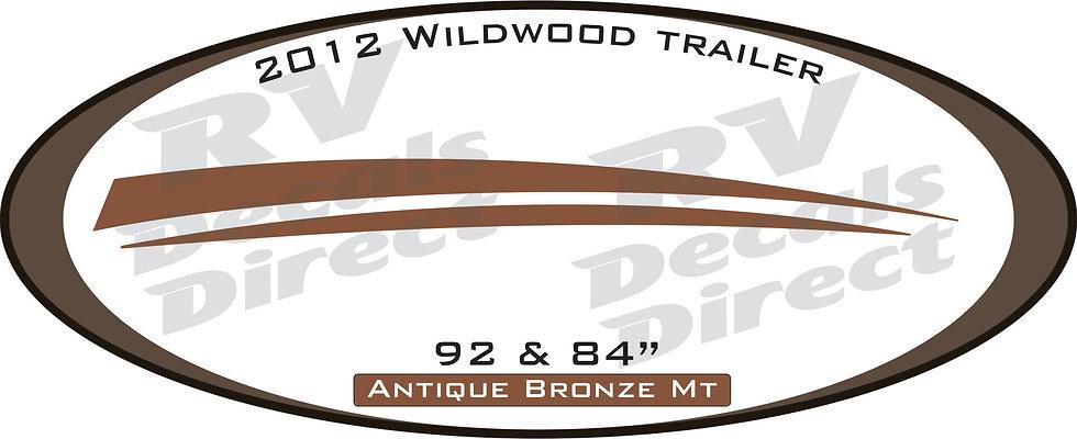 2012 Wildwood Travel Trailer