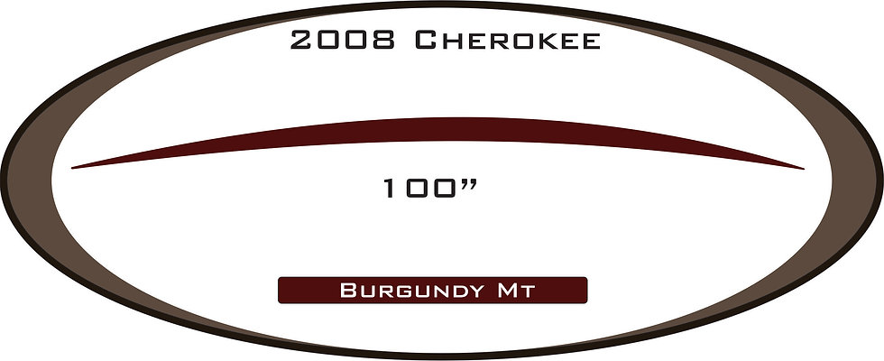 2008 Cherokee Travel Trailer