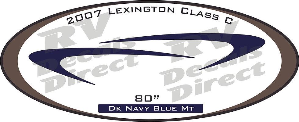 2007 Lexington Class C