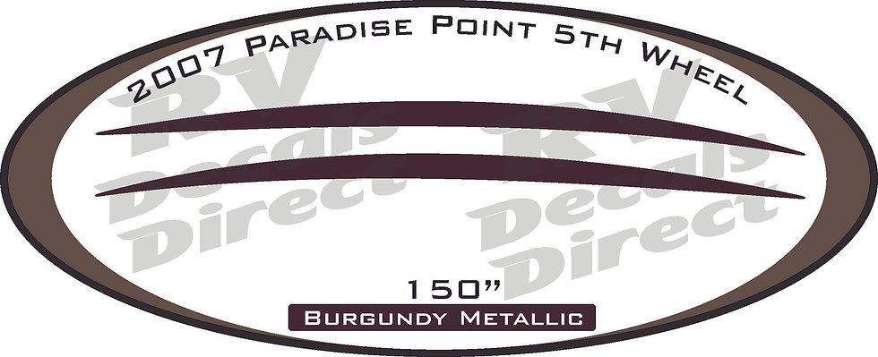 2007 Paradise Point 5th Wheel