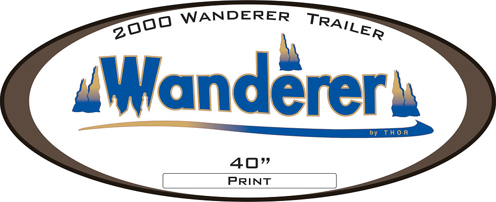 2000 Wanderer Travel Trailer