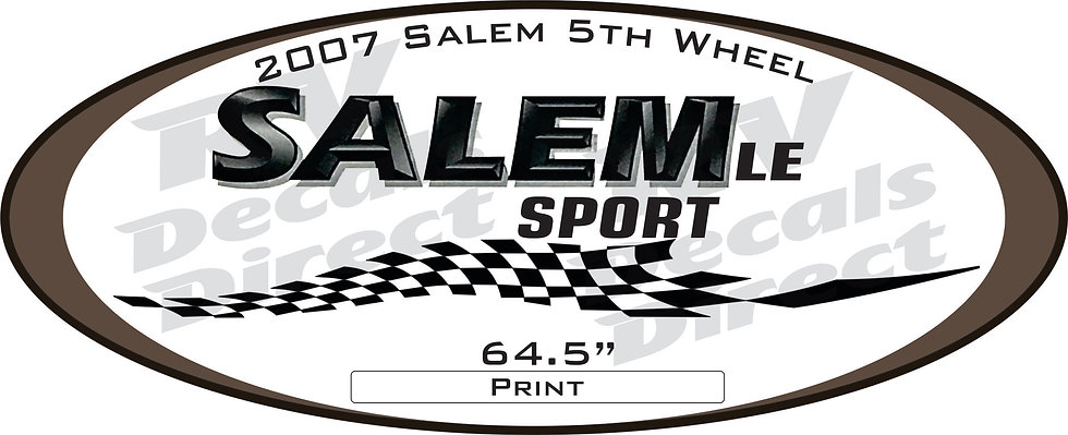 2007 Salem 5th Wheel