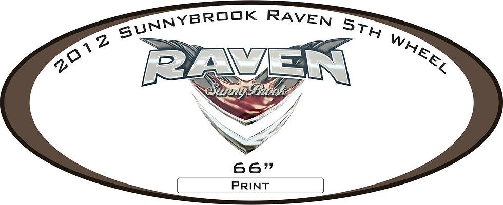 2012 Raven Sunnybrook 5th Wheel