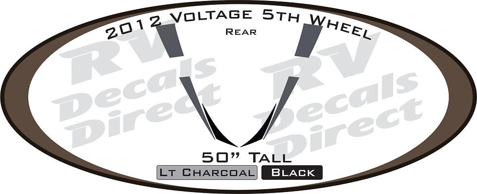 2012 Voltage 5th Wheel
