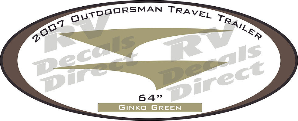 2007 Outdoorsman Travel Trailer