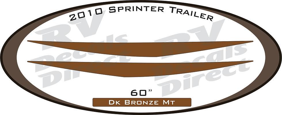 2010 Sprinter Travel Trailer