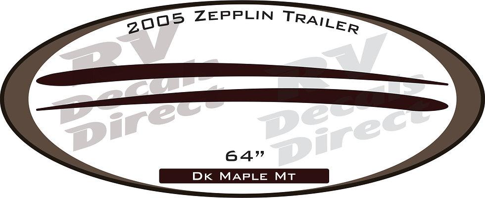 2005 Zepplin Travel Trailer