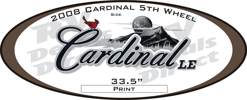 2008 Cardinal 5th Wheel