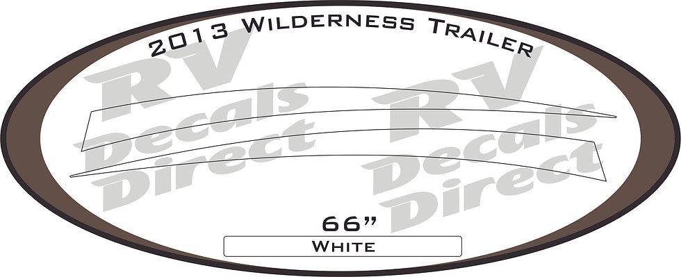 2013 Wilderness Travel Trailer