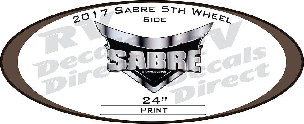 2017 Sabre 5th Wheel