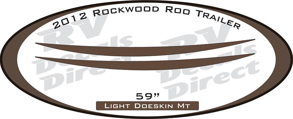 2012 Rockwood Roo Travel Trailer