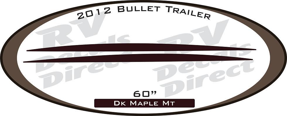 2012 Bullet Travel Trailer