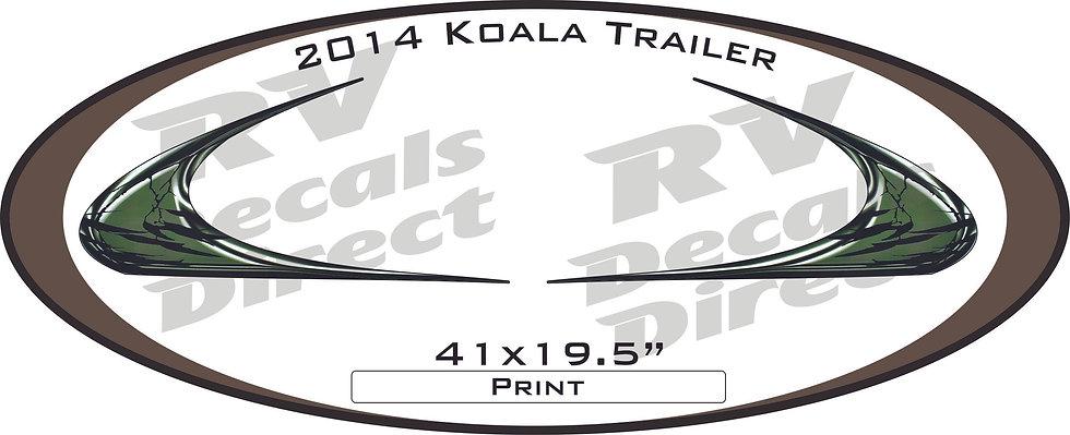 2014 Koala Travel Trailer