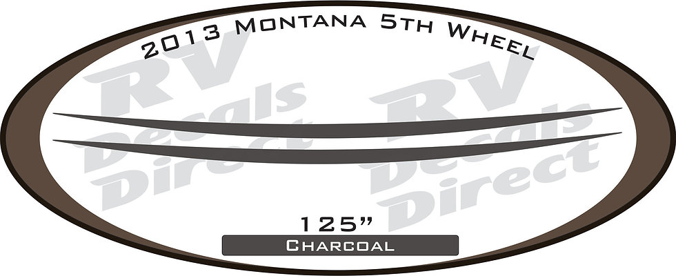2013 Montana 5th Wheel