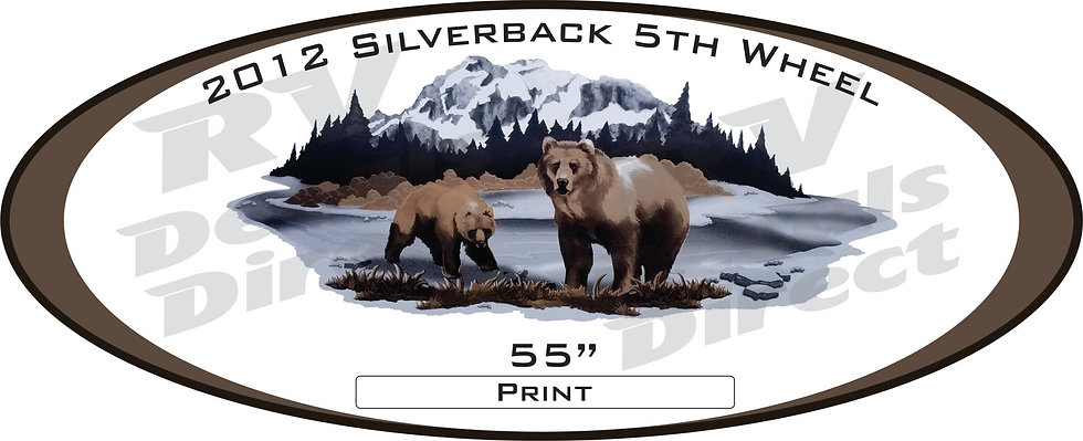 2012 Silverback 5th Wheel