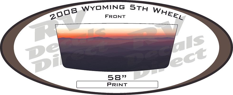 2008 Wyoming 5th Wheel