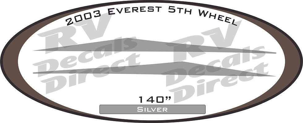 2003 Everest 5th Wheel
