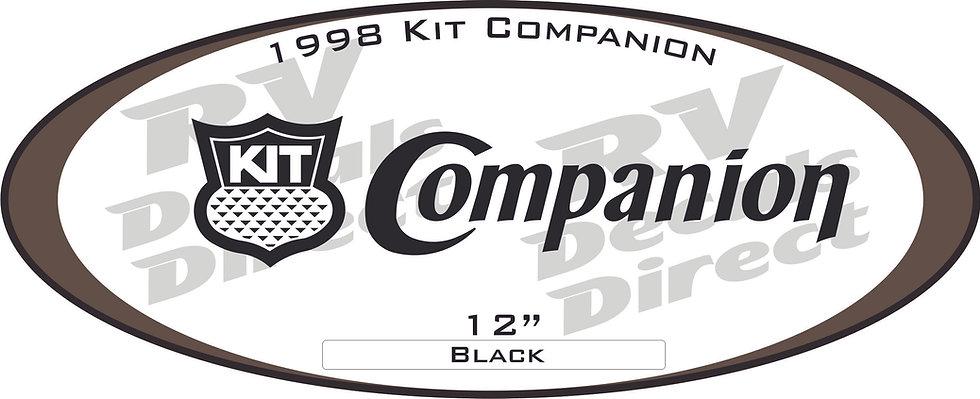 1998 Companion Travel Trailer