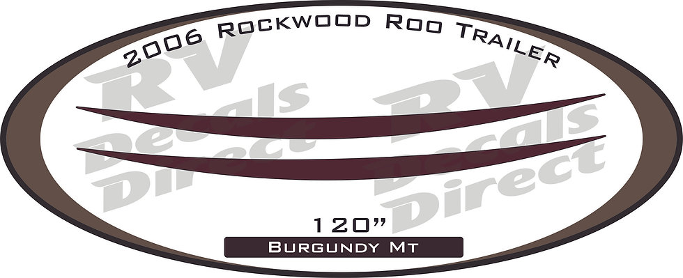 2006 Rockwood Roo Travel Trailer