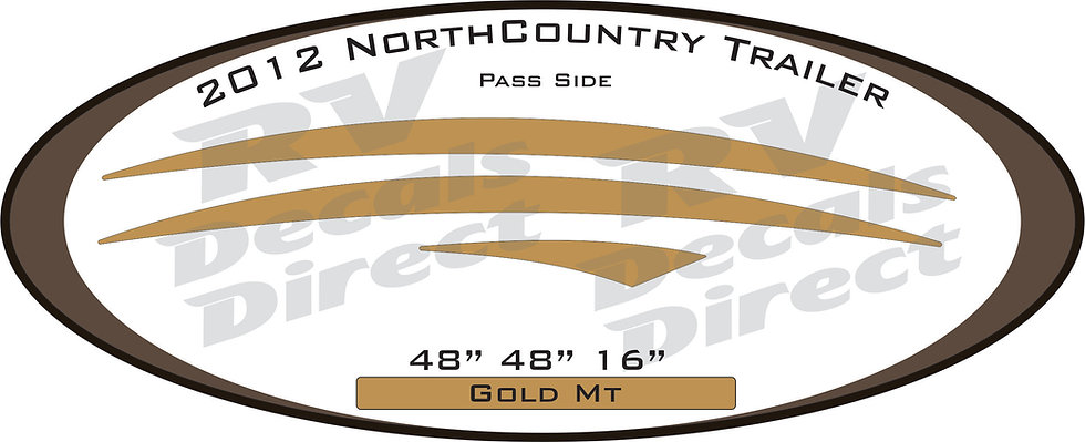 2012 NorthCountry Travel Trailer