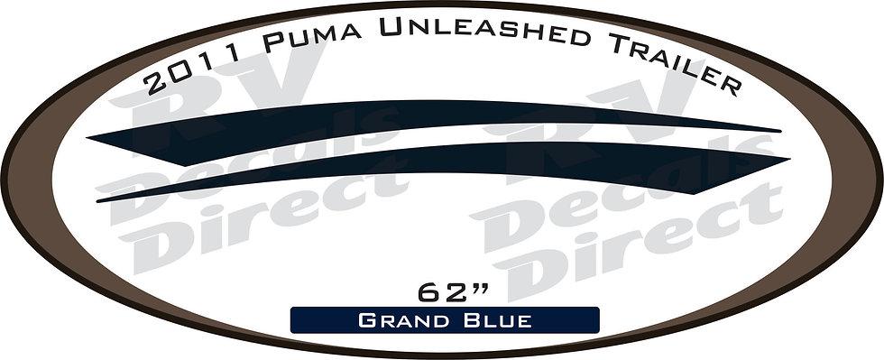 2011 Puma Unleashed Travel Trailer