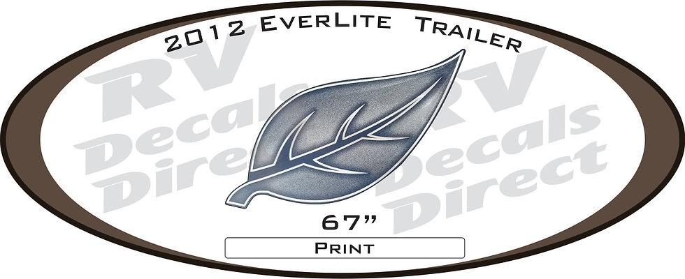 2012 Everlite Travel Trailer