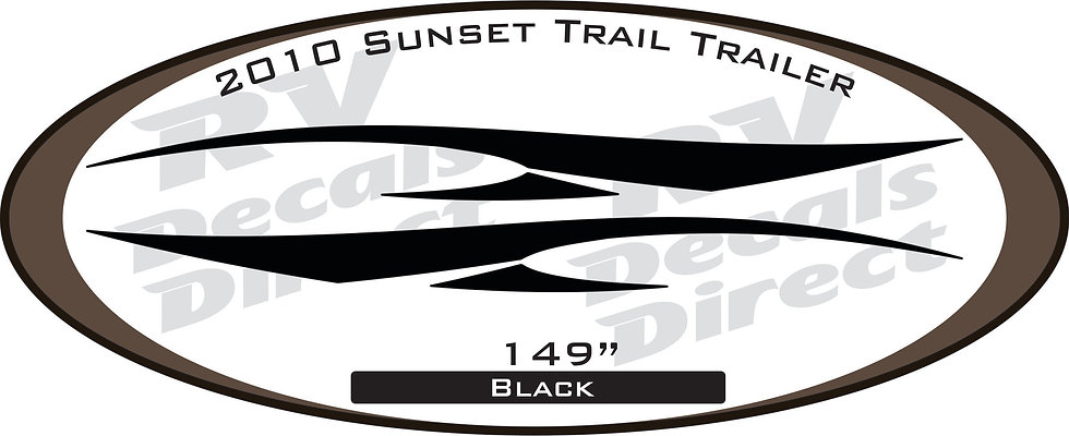 2010 Sunset Trail Travel Trailer