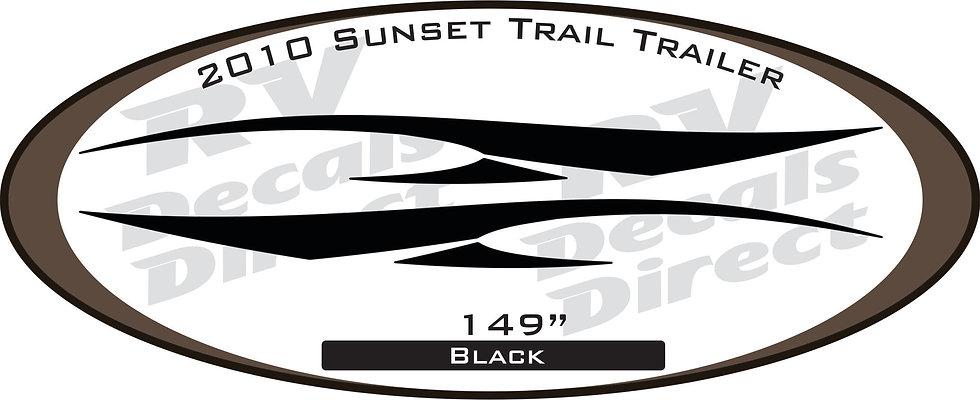 2010 Sunset Trail Travel Trailer