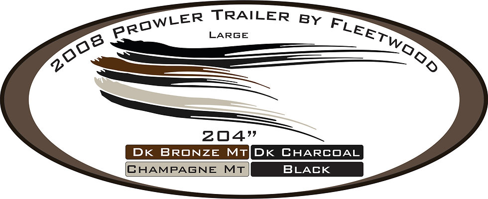 2008 Prowler Travel Trailer