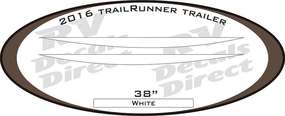 2016 Trail Runner Travel Trailer
