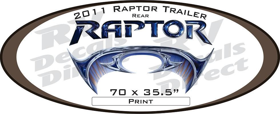 2011 Raptor Travel Trailer