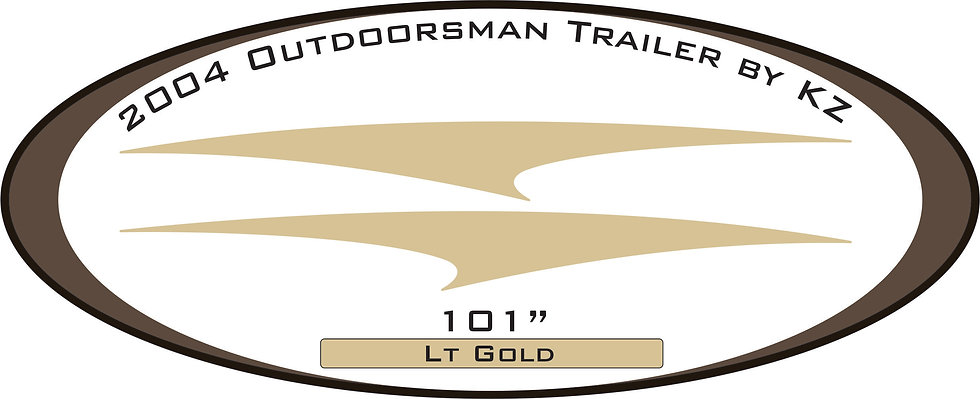 2004 Outdoorsman Trailer