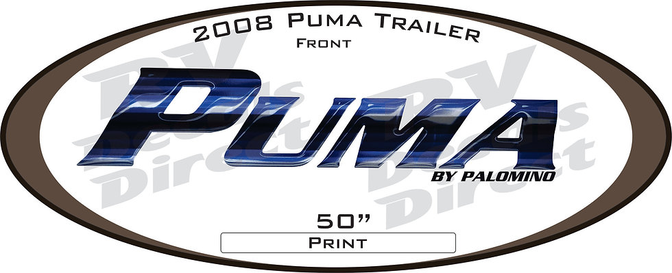 2008 Puma Travel Trailer