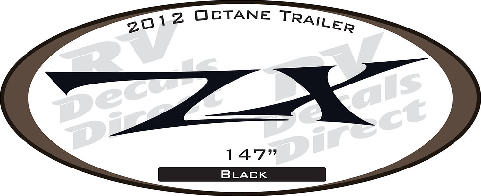 2012 Octane Travel Trailer