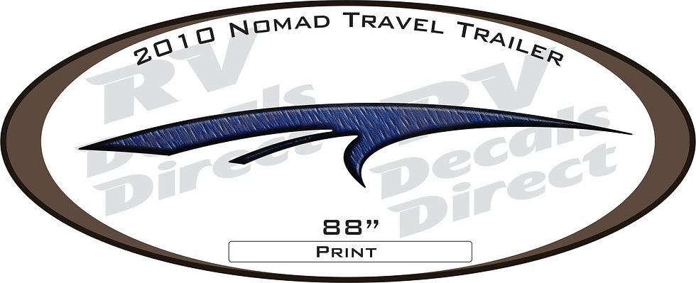 2010 Nomad Travel Trailer