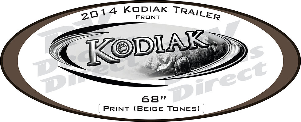 2014 Kodiak Travel Trailer