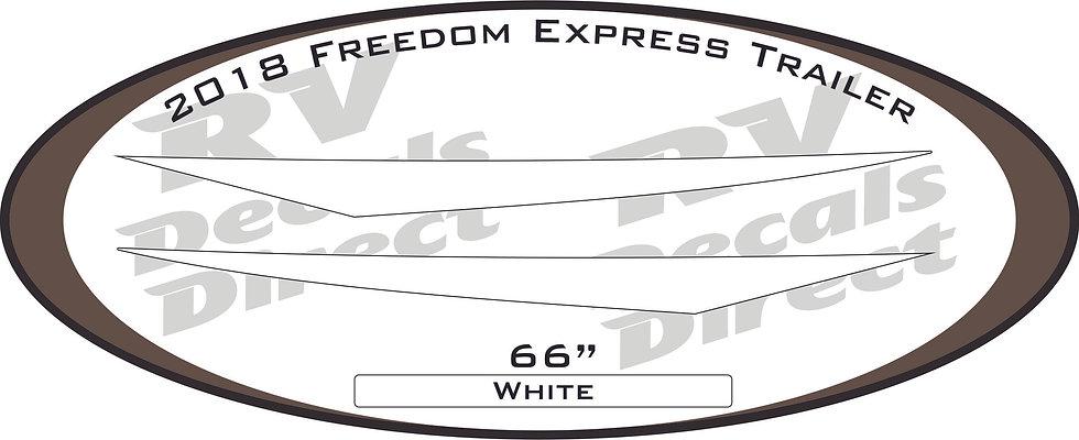 2018 Freedom Express Travel Trailer