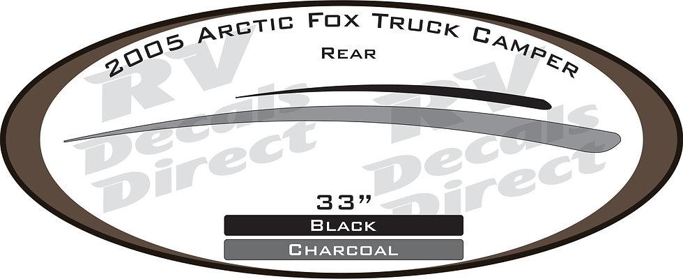 2005 Arctic Fox Truck Camper