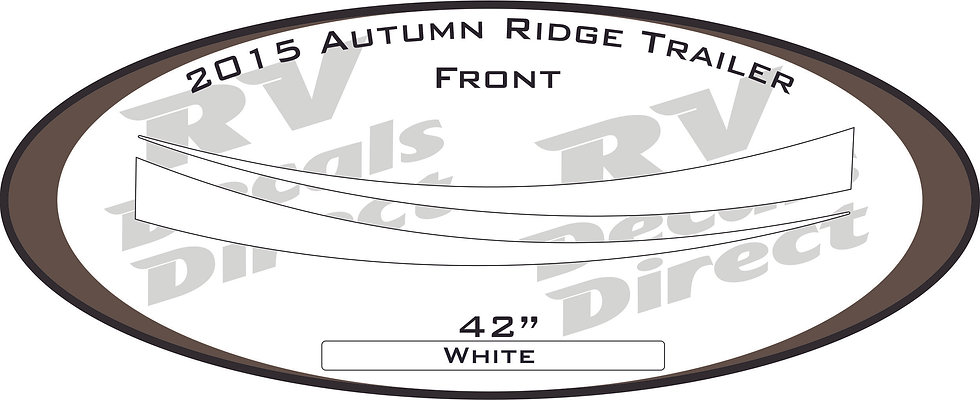2015 Autumn Ridge Travel Trailer