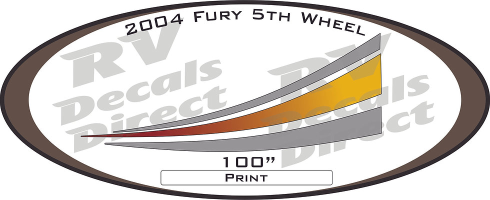 2004 Fury 5th Wheel