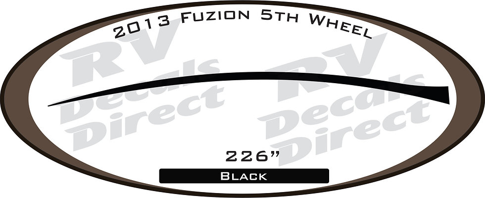 2013 Fuzion 5th Wheel