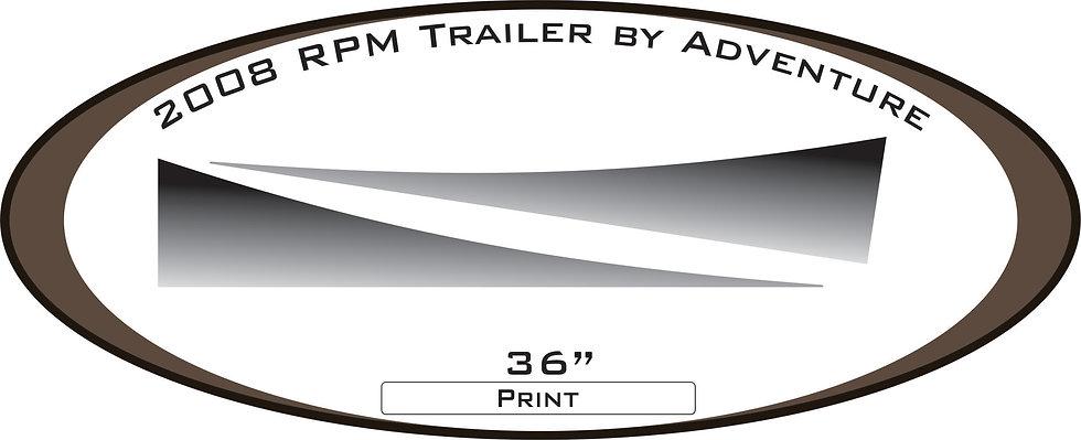 2008 RPM Travel Trailer