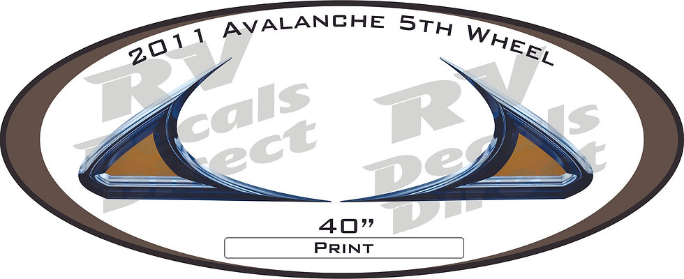 2011 Avalanche 5th Wheel